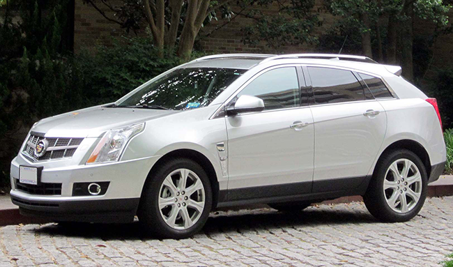 Cadillac SRX Auto Parts Used Search Online ...